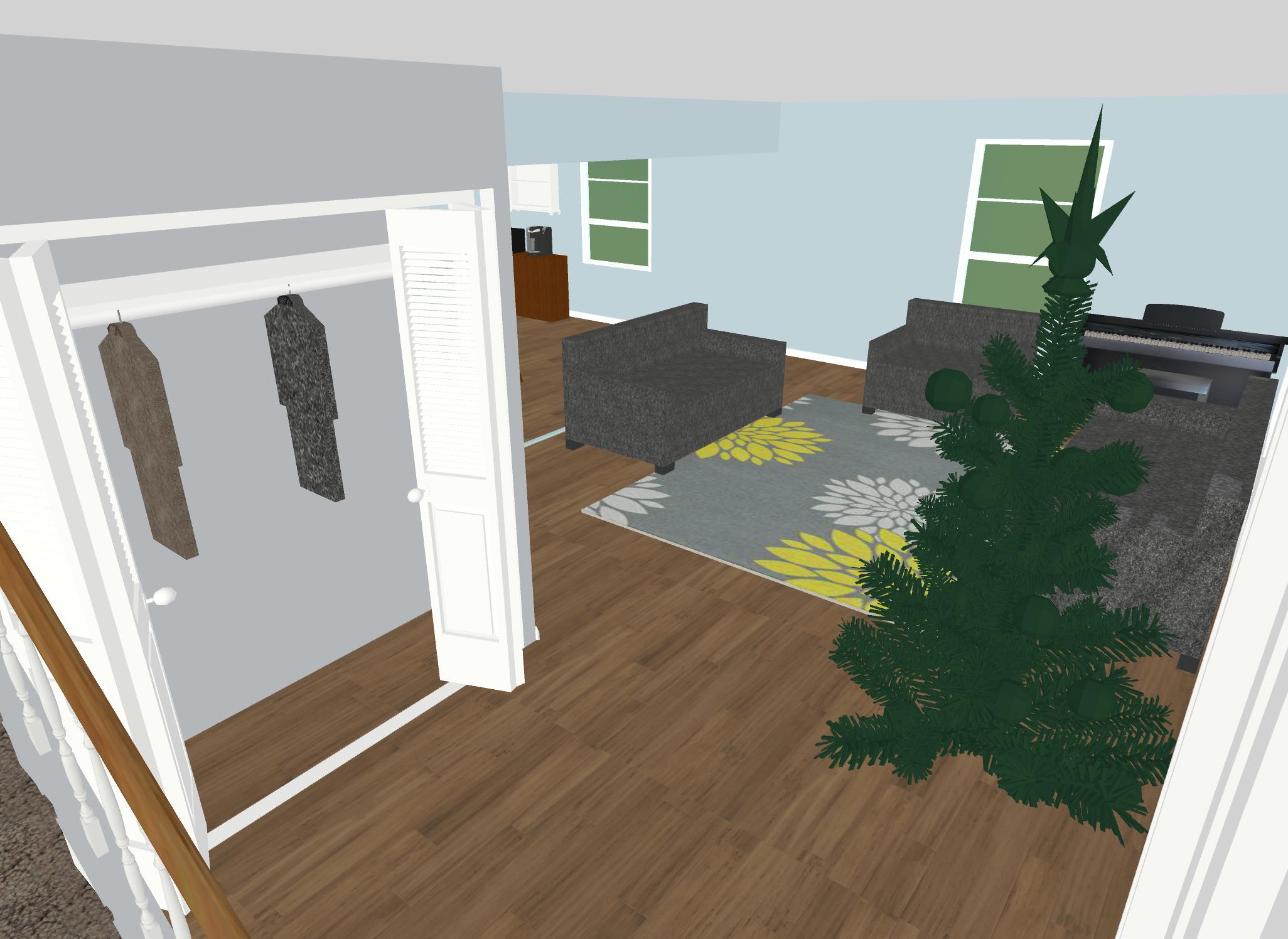 Hallway to Closet